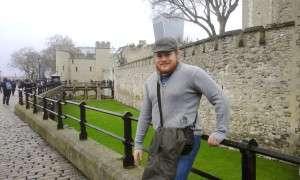 Saya di Tower of London