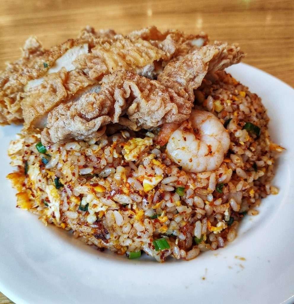 nasi goreng chicken chop din tai fung