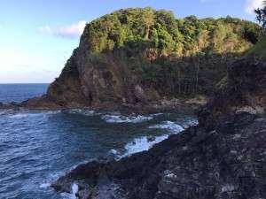 """Trekking ke """"Berakit"""" sebelah pulau."""